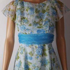 Sylvia Ann  vintage gown, evening dress